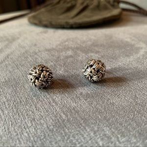 John Hardy Classic Chain Stud Earrings 12mm Round